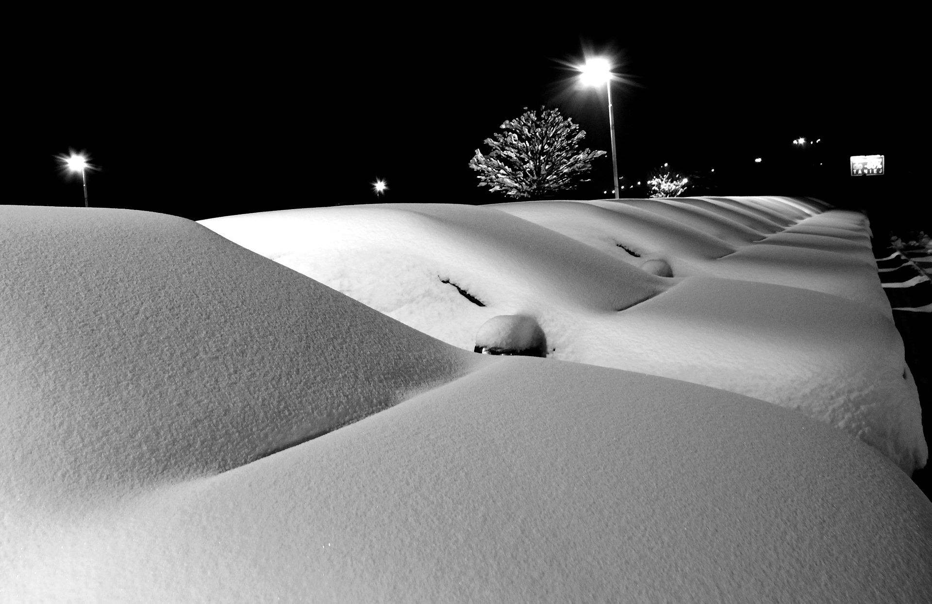 parking neige pixabay
