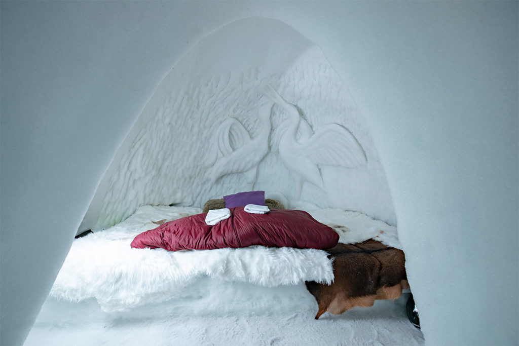 olivier godbolg village igloo