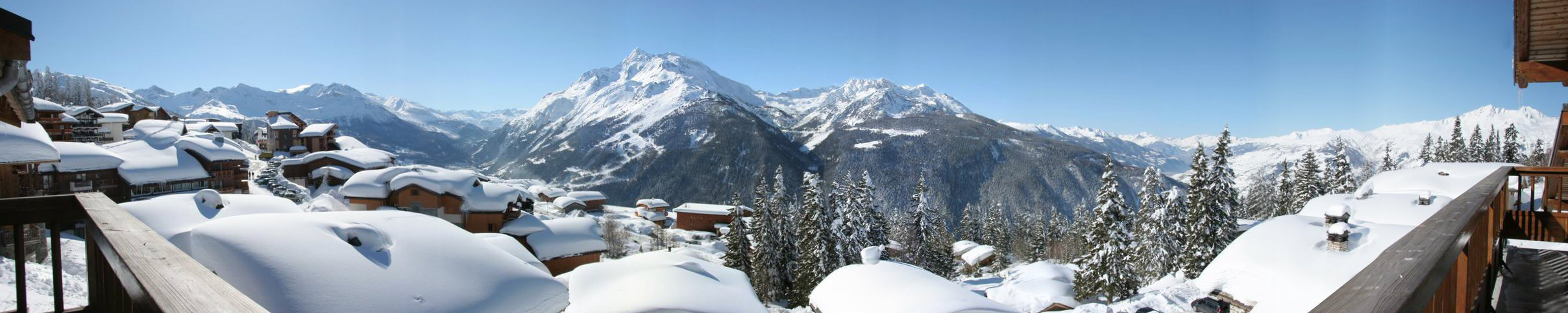 Panorama Chalet le Crystal